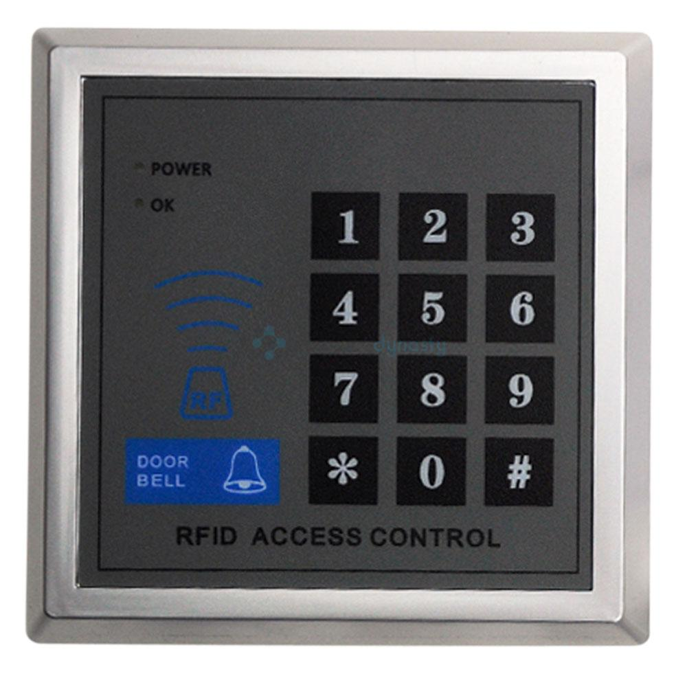electronic rfid proximity entry door lock access control system 10 key fobs uk ebay. Black Bedroom Furniture Sets. Home Design Ideas